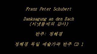 Schubert - Danksagung an den Bach (시냇물에의 감사) - Accompaniment