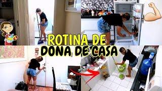 ROTINA DE DONA DE CASA (FAXINANDO O APARTAMENTO) ♥ - Bruna Paula