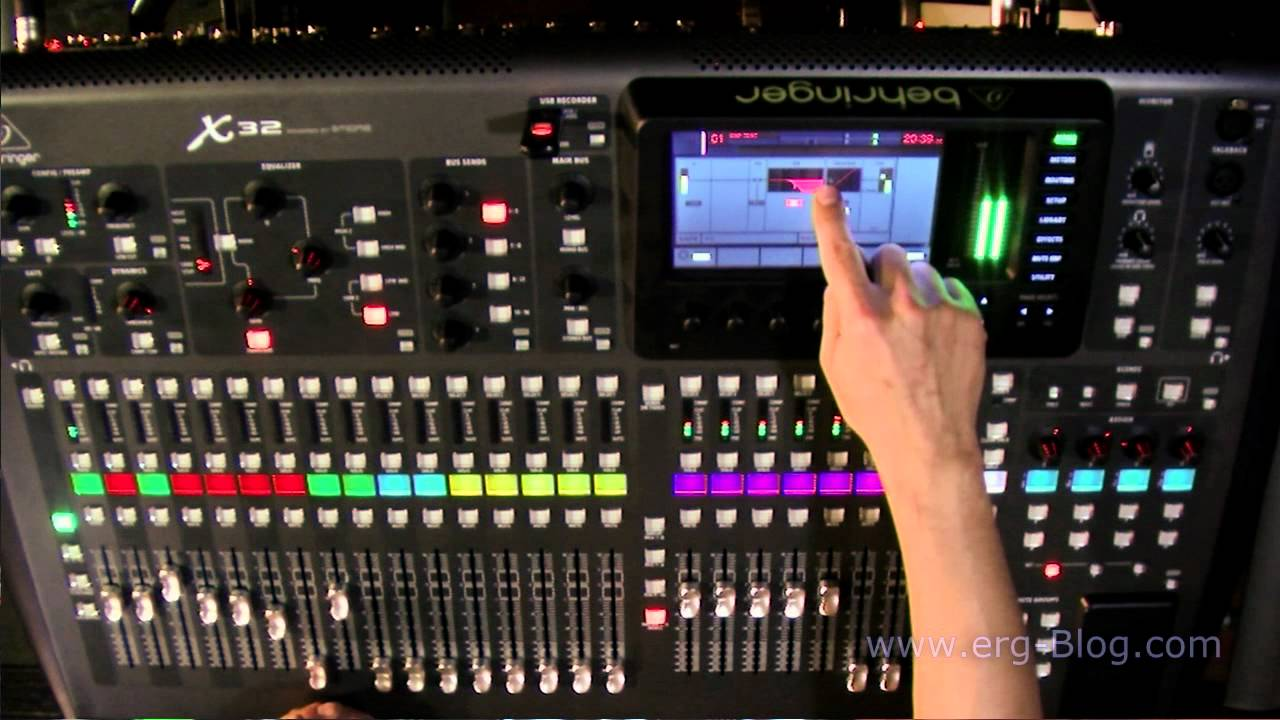 Behringer X32 Review (8) in/out routing