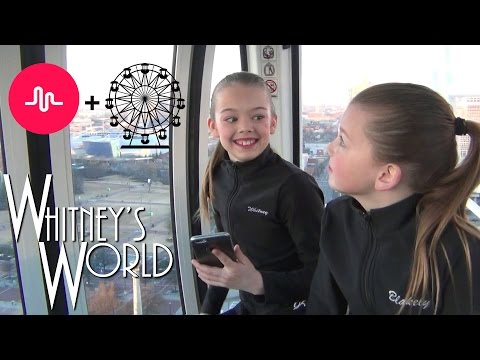 Musical.ly on a Ferris Wheel | Whitney and Blakely