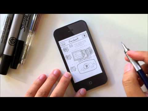 Sketching IPhone User Interfaces