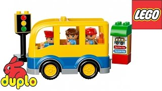 LEGO DUPLO School Bus Set 10528 TOY Review for KIDS