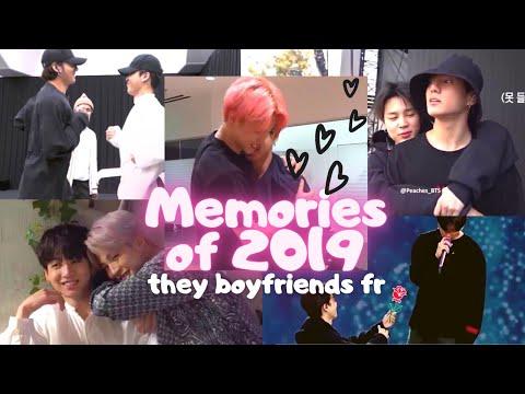 Jikook/Kookmin are Boyfriends - Memories 2019 Edition