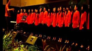 """Paduan Suara Mahasiswa (PSM UNHAS) in KONSER """"Symphoni yang Indah"""".wmv"""