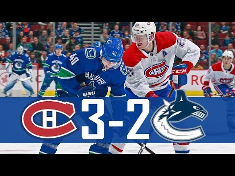 Canucks vs Canadiens | Highlights (Nov. 17, 2018) [HD]