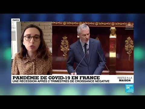Coronavirus: La France entre officiellement en récession