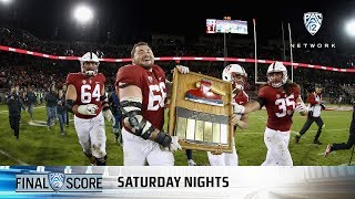 Highlights: Stanford football holds off California on The Farm for eighth consecutive Big Game...
