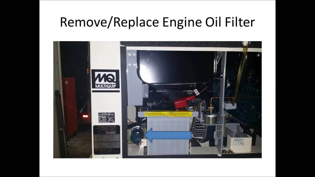 hight resolution of servicing the multiquip da7000 generator