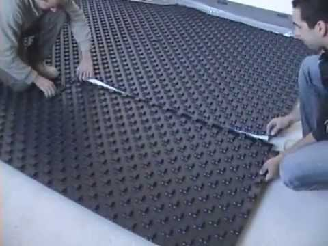Realizzazione di un impianto riscaldamento a pavimento youtube