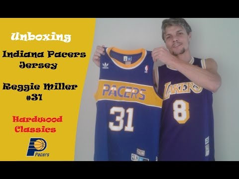 c0ff7525 Unboxing - Indiana Pacers Jersey - NBA - Reggie Miller #31 - AliExpress -  YouTube