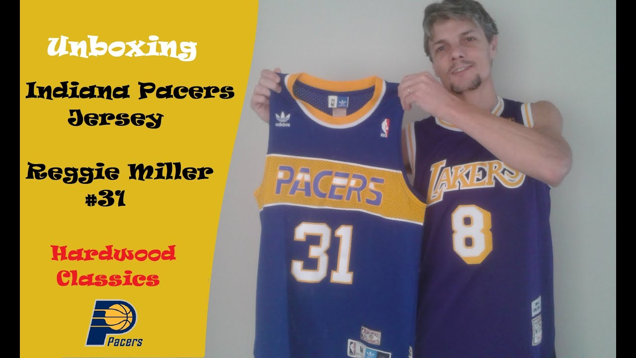 82c0a0f0 Unboxing - Indiana Pacers Jersey - NBA - Reggie Miller #31 - AliExpress