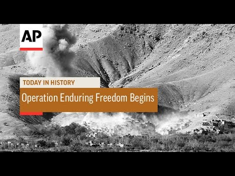Operation Enduring Freedom Begins - 2001 | Today in History | 7 Oct 16