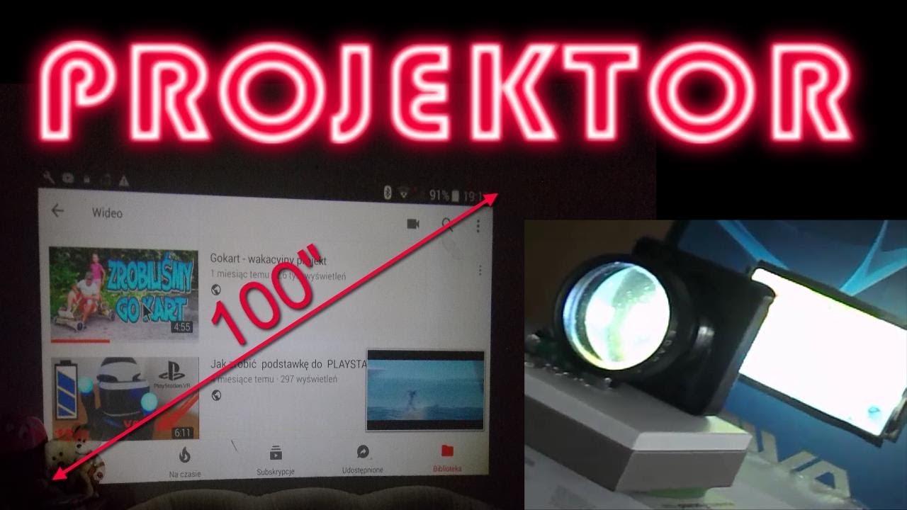 Jak zrobić projektor ze smartfona