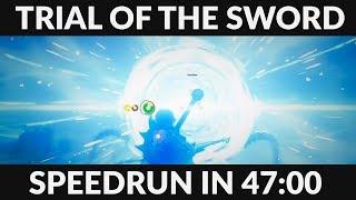 BotW Trial of the Sword Speedrun in 47:00