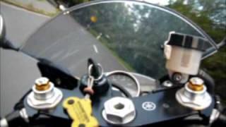 Yamaha R6 goes Crazy