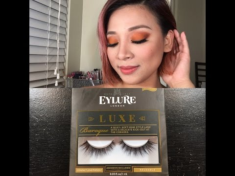 4d1175ef7ab Eylure luxe lashes Baroque - YouTube
