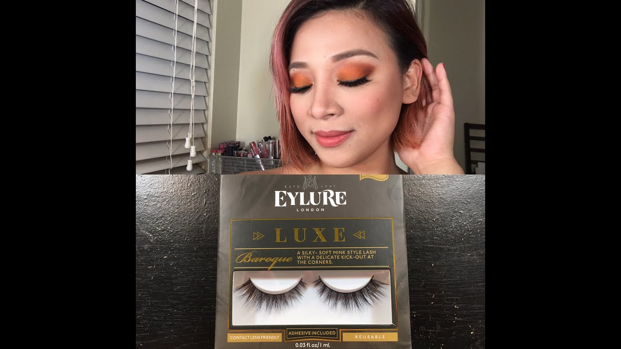 1839b1fb4ae Eylure luxe lashes Baroque - YouTube