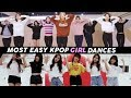 15 EASY KPOP GIRL GROUPS  DANCES