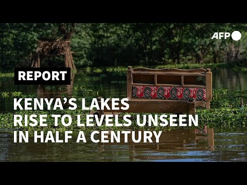 AFP News Agency: 'Like the speed of the wind': Kenya's lakes rise to destructive highs | AFP