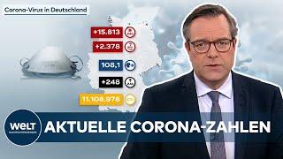 Aktuelle corona-zahlen: 15.813 covid-19-neuinfektionen und 248 todesfälle in deutschland