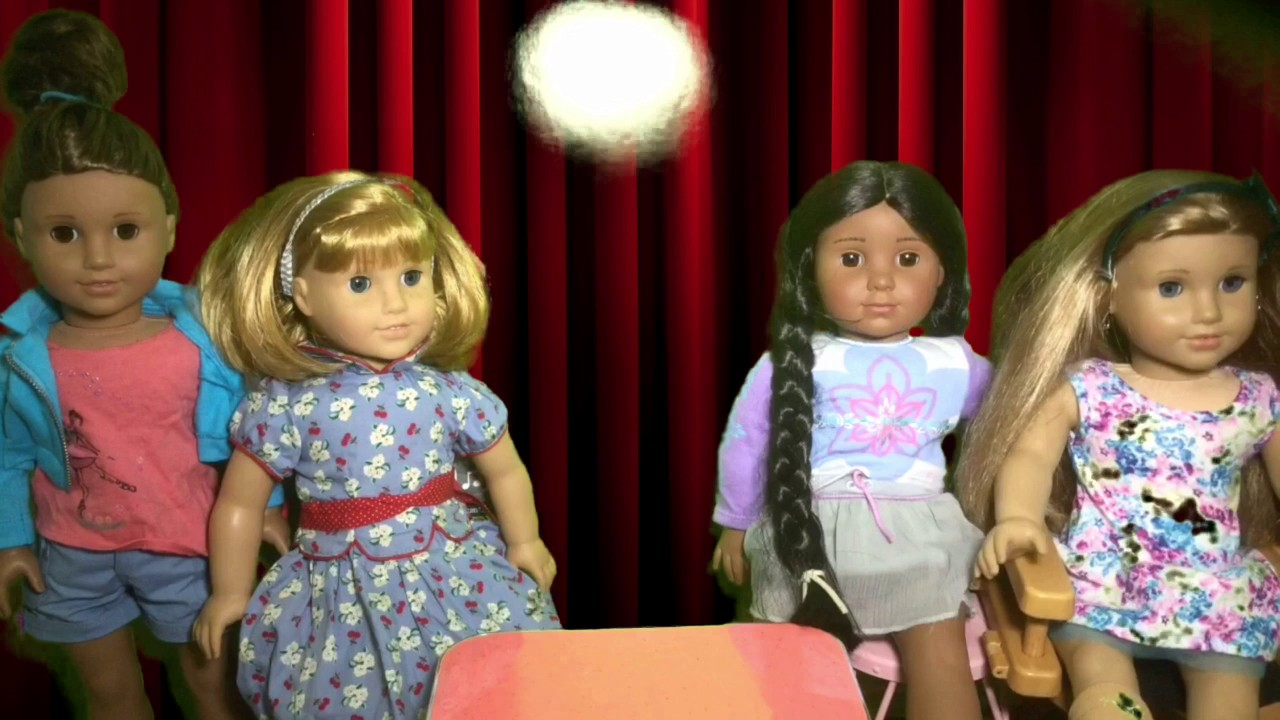 Guess The Theme Song Challenge- Doll Style! Season 8 Episode 1 AG Adventures