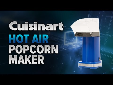 Quick & Easy Popcorn In Minutes With The Cuisinart EasyPop Hot Air Popcorn Maker