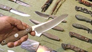 Интересные ножи на выставке Клинок на Неве