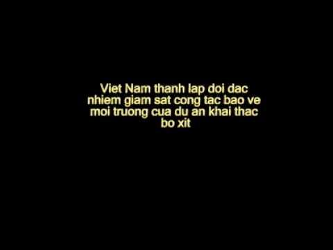 Viet Nam thanh lap doi dac nhiem giam sat cong tac bao ve moi truong cua du an khai thac bo xit