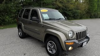 2004 Jeep Liberty Sport Rocky Mountain Edition 4X4|18370B