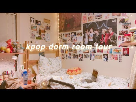 kpop dorm room tour