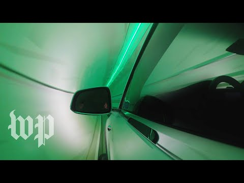 A ride through Elon Musk's first Boring Company tunnel