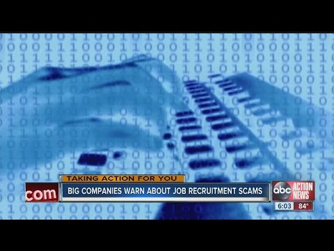 Job recruitment scams on the rise