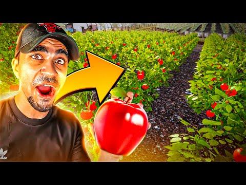 محاكي حياة المزارع - زرعت تفاح 😍🔥 - Farmer Life Simulator