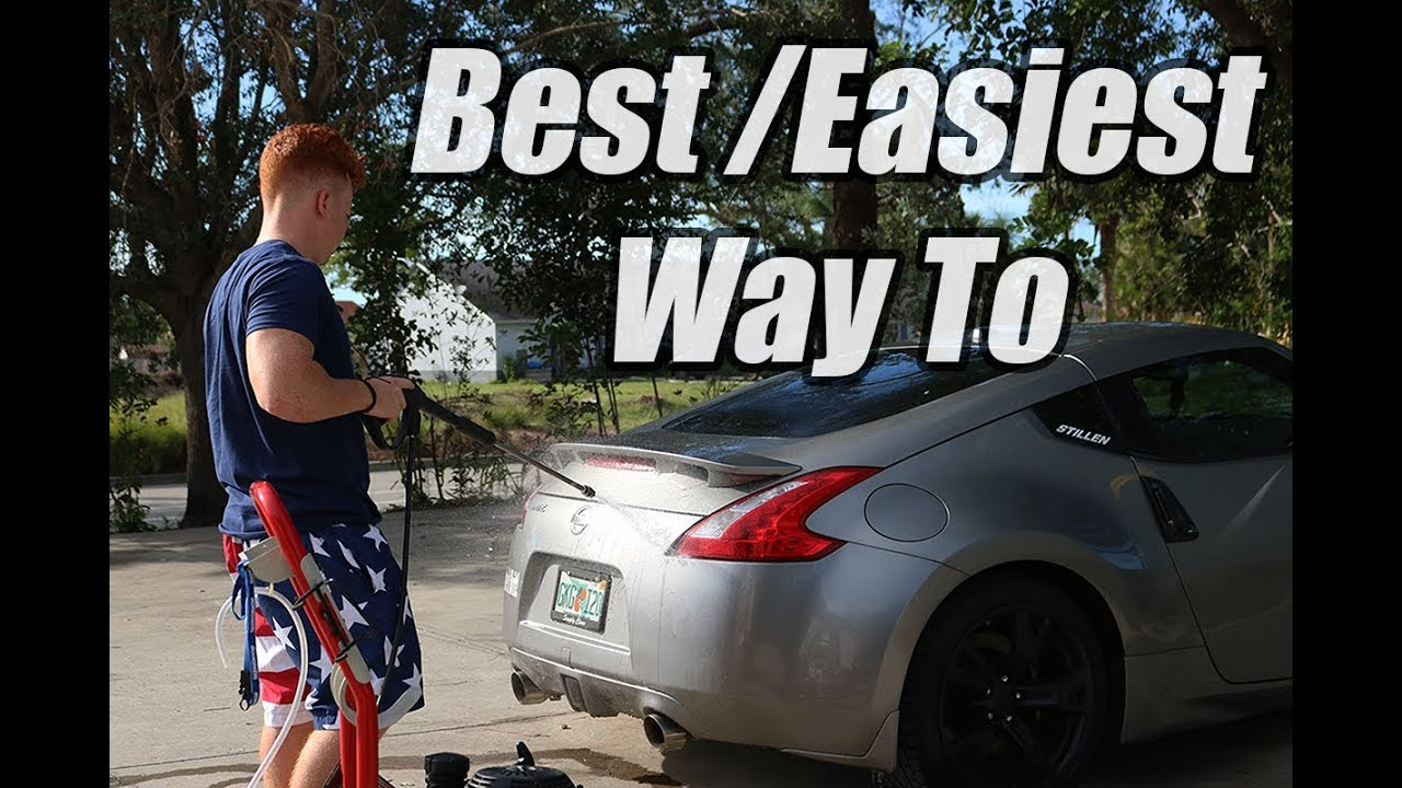 Best Way To Dry A Car >> How I Wash My Nissan 370z The Best Way To Dry Your Car Off