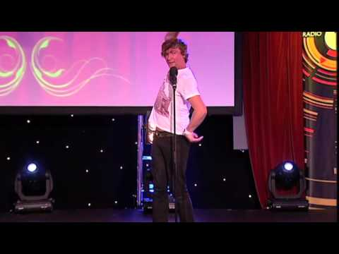 Rhys Darby - AKA Murray From Flight Of The Conchords - Fun And Filth Cabaret 2012: Day 3