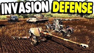 FULL SCALE WWII INVASION FORCE | RobZ Realism | Men of War: Assault Squad 2 Gameplay