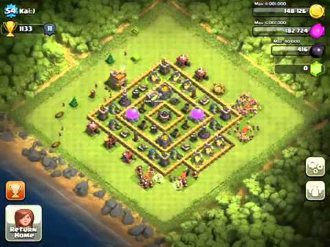 Clash Of Clans Tips- How To Know If SomeOne Is Online!