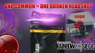"Alpha Pack Opening, but for every ""common"" I show a broken headshot. - Operation Health"