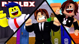 WE FLED FROM SCHOOL TO STAY ON VACATION IN ROBLOX!!