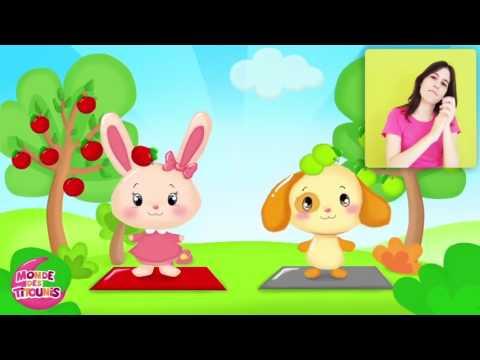 На французском языке мультфильм