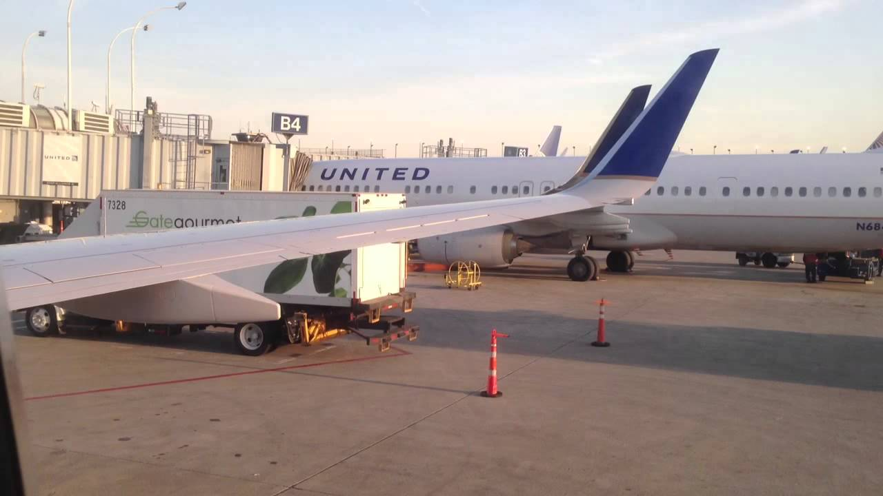 United Airlines Chicago Ord To Buffalo Buf Youtube