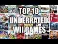 Top 10 Underrated WII Games