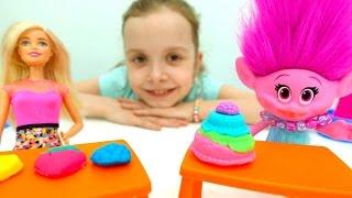 Барби и Розочка - Игры для девочек -Готовим вместе