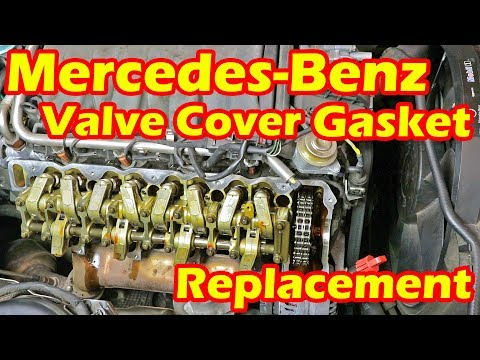 Mercedes Benz Valve Cover gasket Replacement Made Easy – Mercedes Benz S Class S500 W220