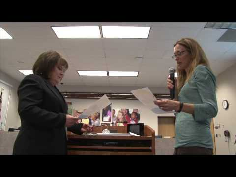 Carrie Mendoza Oath of Office