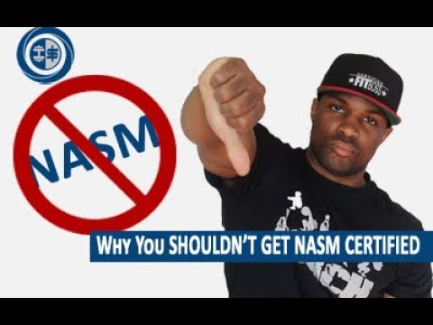 Why You Should NOT Get The NASM CPT || Certification