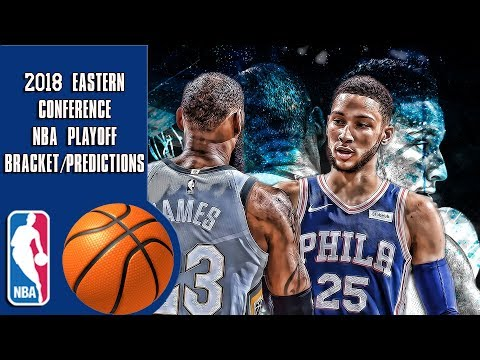 2018 Eastern conference NBA playoff bracket/predictions