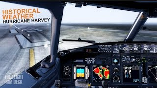 Prepar3D v4 | Historical Weather | Hurricane Harvey | PMDG 737-900 NGX