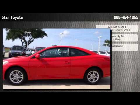 2006 toyota camry solara coupe sle automatic houston youtube. Black Bedroom Furniture Sets. Home Design Ideas
