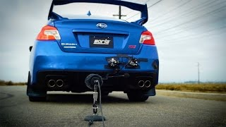 Borla S-Type Exhaust for 2015-2017 Subaru WRX STI (Part # 140595)